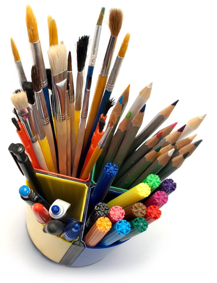 """""""Design"""" - Box mit Stiften"""
